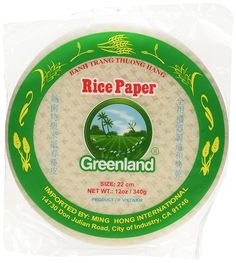 Greenland Spring Roll Rice Paper Wrappers - 22 cm (Pack of 3) * Review more details here - Fresh Groceries