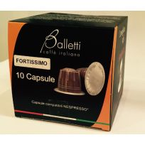 Nespresso compatible Darker Roasts - Fortissimo (9/10)
