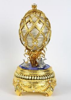"""House of Igor Carl Faberge """"The Faberge Swan Imperial"""