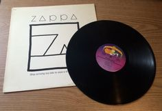 """Vintage 1982 Vinyl Record - Zappa 12"""" Vinyl LP - Ship Arriving Too Late To Save A Driwning Witch"""