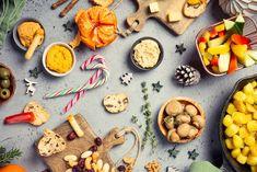 Vegetarisch gourmetten | Tips voor gourmetten tijdens de feestdagen Vegan Ham Recipe, Vegan Recipes, Fondue, Vegan Pudding, Dinner Party Table, Vegan Roast, Free Fruit, Mince Pies, Food Concept