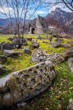 Akhtala Monastery ruins in Armenia
