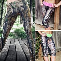 Camo Leggings made with Realtree