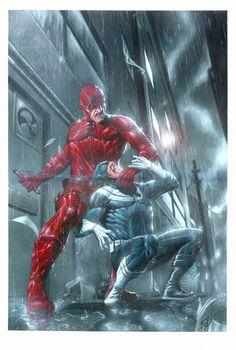 Daredevil vs. Bullseye - andrema on deviantART