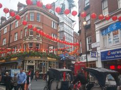 Sth like China Town in London