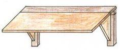 Klapptisch aus Holz bauen