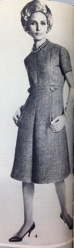 Dior 60s French Vogue