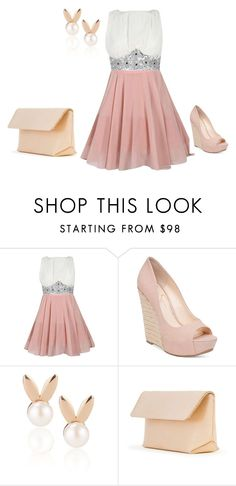 """PROM"" by air-bear-disigns ❤ liked on Polyvore featuring Jessica Simpson, Aamaya by priyanka and Iala Díez"