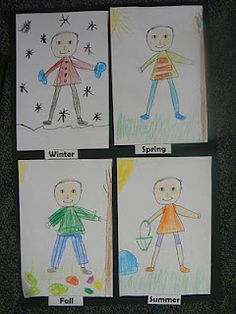 Mrs. T's First Grade Class: The Four Seasons...What to Wear???
