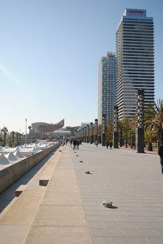 Barcelona - Port Olímpic by demiante, via Flickr