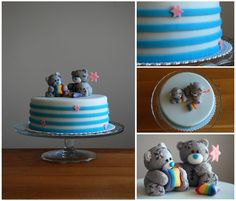 Me to You Teddy Bear Cake by deLucious