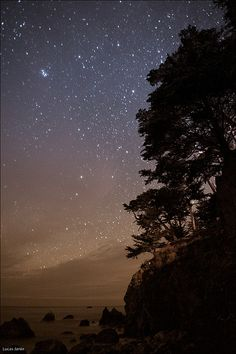 Spectacular Places: Sky full of Stars in Slates Hot Springs, USA