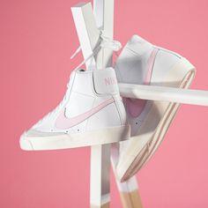 Nike Blazer Mid `77 Vintage Herren-/ Frauenschuh weiß / pink