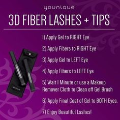 Are your eyelashes thin or short? I have the answer: Younique's 3D Fiber Lashes. Check them out on my website by clicking the link below and then shop, then the eye tab. https://www.youniqueproducts.com/Taminator