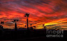 Foothills Sunset: See more images at http://robert-bales.artistwebsites.com/