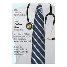 20 best medical school graduation invitations images on pinterest md graduation invitation filmwisefo