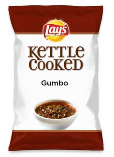 Wouldn't Gumbo be yummy as a chip? Lay's Do Us A Flavor is back, and the search is on for the yummiest flavor idea. Create a flavor, choose a chip and you could win $1 million!https://www.dousaflavor.comSee Rules.
