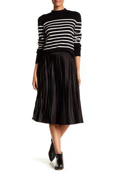 Image of VERO MODA Adrian Pleat Skirt