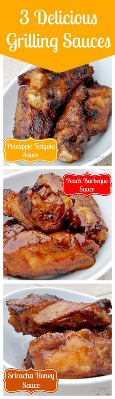 3 Delicious Summer Grilling Sauces - Perfect with