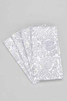Woodblock Printed Napkin Set