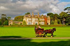 A wonderful shot to Muckross House. Don't you feel just like in an fairytale?  via kerryireland.ie