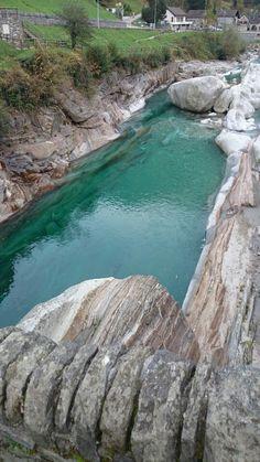 Verzasca River Ticino