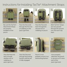 Maxpedition® patent pending TacTie™ Attachment Strap system is used to integrate…