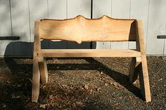 Spicebush Log: A Leopold Bench Make A Fire Pit, Diy Fire Pit, Fire Pits, Leopold Bench, Diy Bank, Diy Wood Bench, Dark Wood Kitchens, Garden In The Woods, Bench Plans