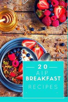Having trouble figuring out what you can eat for breakfast on an AIP diet? Than look no further! Here are 20 AIP Breakfast recipes to make your morning.