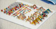 """Фрагмент макета жилого комплекса """"Лукино-Варино"""". Масштаб: 1:500 Для придания макету реалистичности мы изготовили множество малых архитектурных форм для детских и спортивных площадок. Для производства использовался пластик ПВХ толщиной 1мм, полистирол толщиной 0,5мм и картон. Все объекты окрашены акриловой краской вручную! #моделирование, #моделизм #макетздания #макетдома #макетирование #architecture #modeling #Modelism #buildinglayout #house layout #breadboarding #scalemodels #workshop…"""