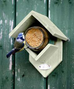 Pindakaashuis voor Vogels