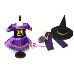 Arianna Hocus Pocus Witch Costume for 18'' American Girl Doll