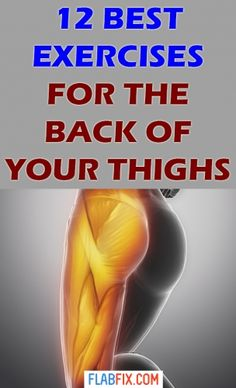 In this article, you will discover the best exercises for the back of the thighs without weights or machines for men and women. Home Exercise Program, Home Exercise Routines, At Home Workout Plan, Workout Programs, At Home Workouts, Leg Workouts, Beginner Workouts, Exercise For Pregnant Women, Single Leg Deadlift