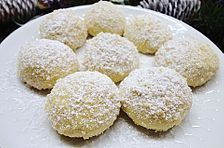 Butterhupferl, a delicious recipe from the Cookies & Cookies category. German Cookies, Biscotti Cookies, Peanut Butter Recipes, Ciabatta, How Sweet Eats, Christmas Baking, No Bake Cake, Finger Foods, Sweet Recipes