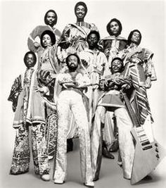 EARTH WIND AND FIRE 1970's music disco era