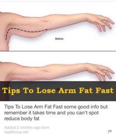 Tips To Lose Arm Fat Fast  #Health #Fitness #Trusper #Tip