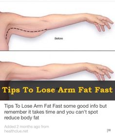 Tips To Lose Arm Fat Fast  #Health #Fitness #Trusper #Tip