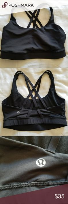 Lululemon Energy Bra Lightly worn, very good condition. Simply doesn't fit bust anymore lululemon athletica Tops