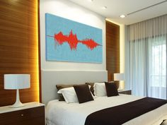 Voice recording on canvas