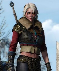 So as far as I finished my original Ciri cosplay, I started making her alternative look from DLC. Geralt Of Rivia, Ciri, The Adventure Zone, The Witcher, Punk, Cosplay, Clothes, Elves, Videogames