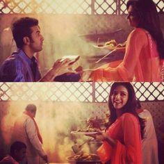 Deepika and Ranbir in yjhd