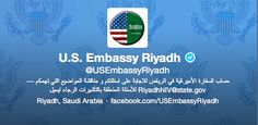 Unbelievable: Outrageous Avatar Of US Embassy Riyadh Twitter Account