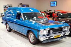 XW Australian Muscle Cars, Aussie Muscle Cars, American Muscle Cars, Ford Girl, Old Classic Cars, Ford Falcon, Custom Vans, Electric Blue, Van Life