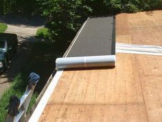 How To Install Roll Roofing With Your Own Hands Houseroofingtips Roofingtips Roll Roofing Shed Roof Felt Shed Roof