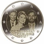 2 euro Royal Wedding - 2012 - Series: Commemorative 2 euro coins - Luxembourg