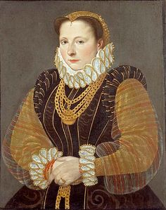 Hans Bock The Elder (c.1550-c.1623) —  Portrait of Eva Steward of Rheinfelden, 1580 (630x800)