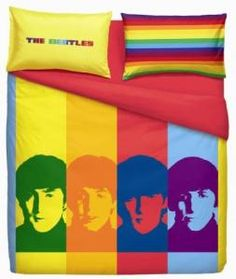 Bassetti Set copripiumone Beatles