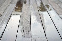 Wet wood floors  by auimeesri on @creativemarket