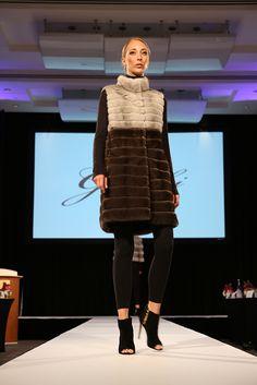 #ColorBlock long #Gorski Fur Vest