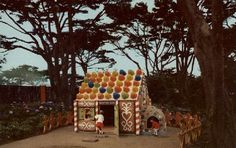 Gingerbread House in San Francisco Zoo's Storyland, 1960s. - WNP Collection  This article originally appeared in Ocean Beach Bulletin, May 2011.